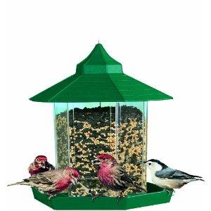 gazebo bird feeders, bird feeder, unique bird feeders