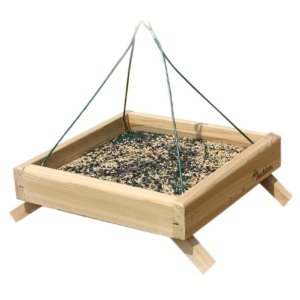 platform bird feeder, bird feeders, unique bird feeders