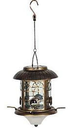 solar powered bird feeders